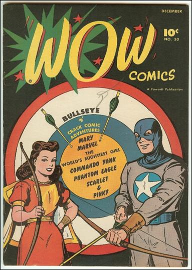 Wow Comics (1940) 50-A by Fawcett
