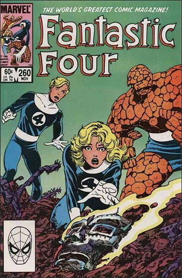 Fantastic Four (1961) 260-A by Marvel