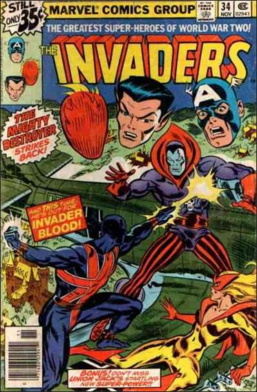 Invaders (1975) 34-A by Marvel