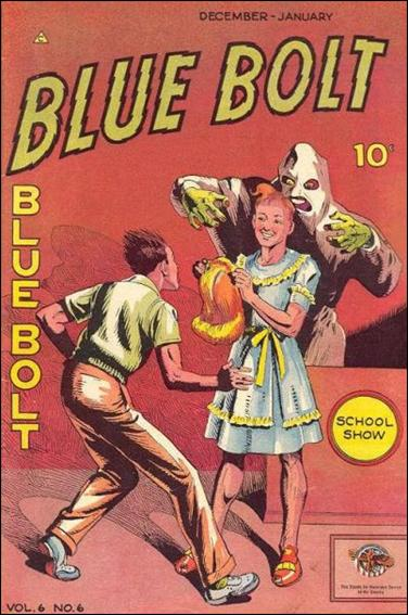 Blue Bolt (1945) 6-A by Novelty Press