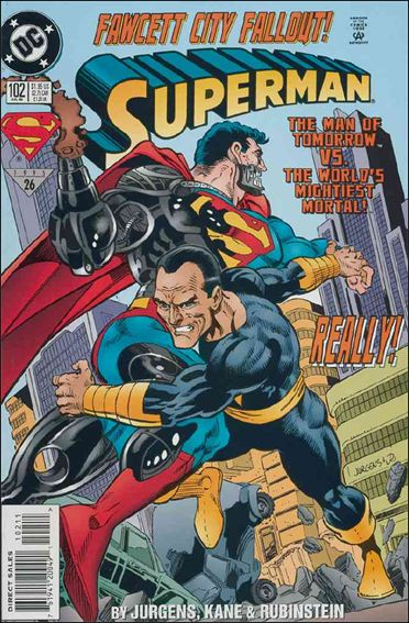Superman (1987) 102-A by DC