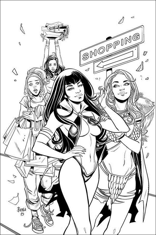 Red Sonja and Vampirella Meet Betty and Veronica 10-G by Dynamite Entertainment