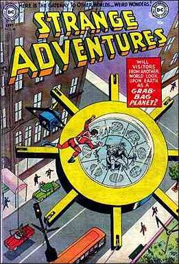 Strange Adventures (1950) 36-A by DC