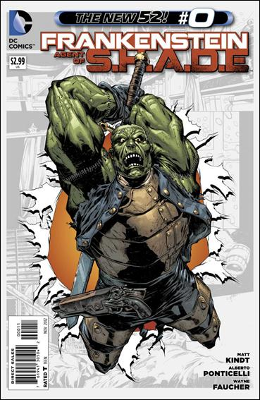 Frankenstein, Agent of S.H.A.D.E. 0-A by DC