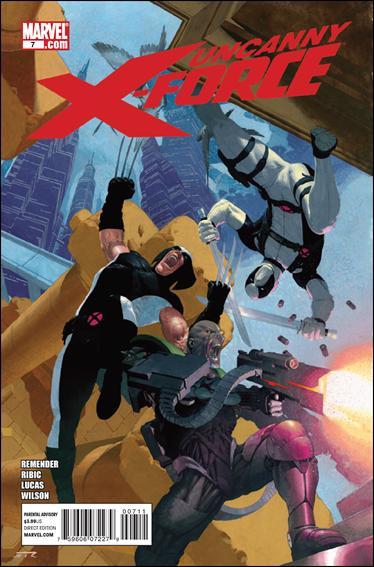 Uncanny X-Force (2010) 7-A by Marvel
