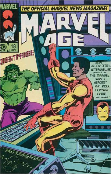 Marvel Age 18-A by Marvel