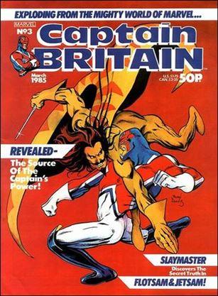 Captain Britain (UK) (1985) 3-A