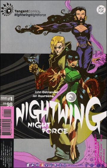 Tangent Comics/Nightwing: Night Force 1-A by DC