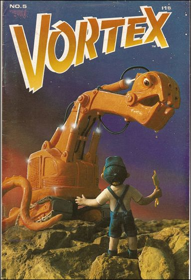 Vortex (1982) 5-A by Vortex Comics