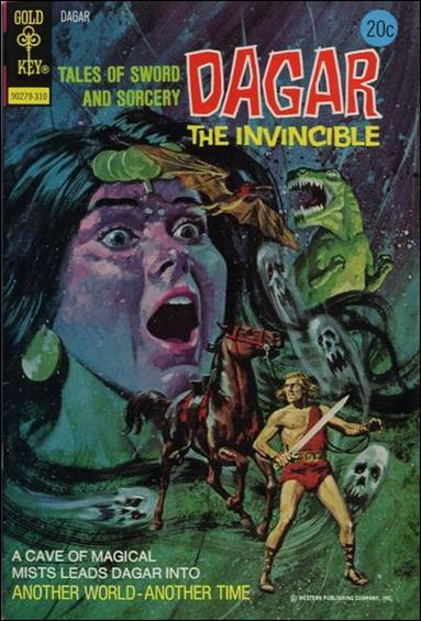 Dagar the Invincible 5-A by Gold Key