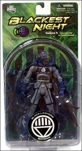 Blackest Night (Series 5) Black Lantern Batman by DC Direct
