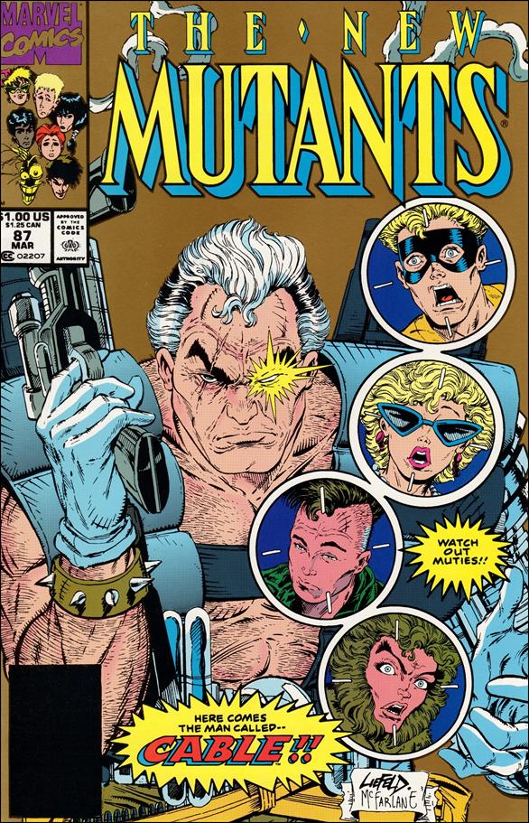 New Mutants (1983) 87-B by Marvel