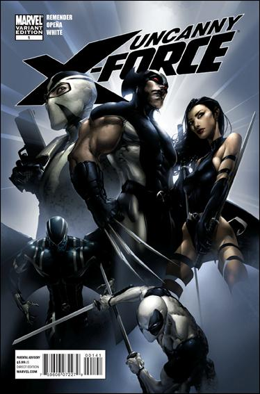 Uncanny X-Force (2010) 1-C by Marvel