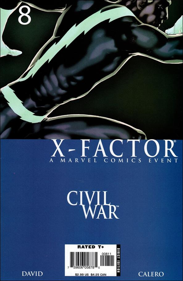 X-Factor (2006) 8-A by Marvel