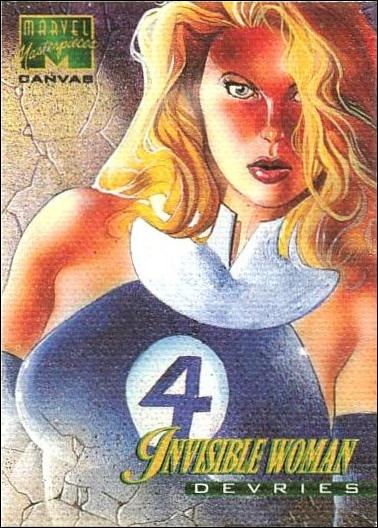 1995 Marvel Masterpieces (Canvas Subset) 11-A by Fleer