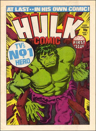 Hulk Comic (UK) 1-A by Marvel UK