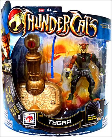 Live Action Thundercats on Thundercats 4  Deluxe Series Tygra  Jan 2011 Action Figure By Bandai
