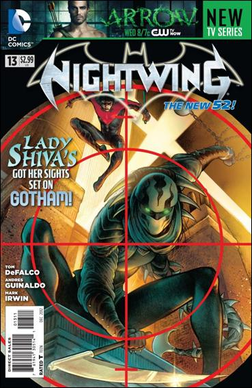 Nightwing (2011) 13-A by DC