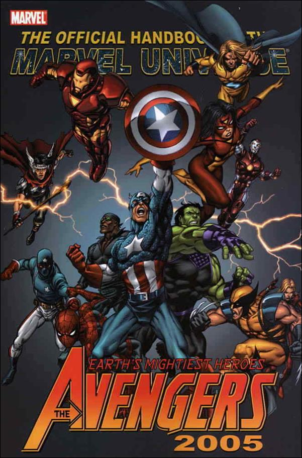 Official Handbook of the Marvel Universe: Avengers 2005 nn-A by Marvel