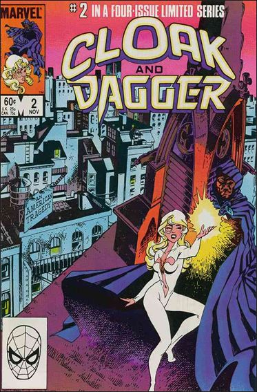 Cloak and Dagger (1983) 2-A by Marvel