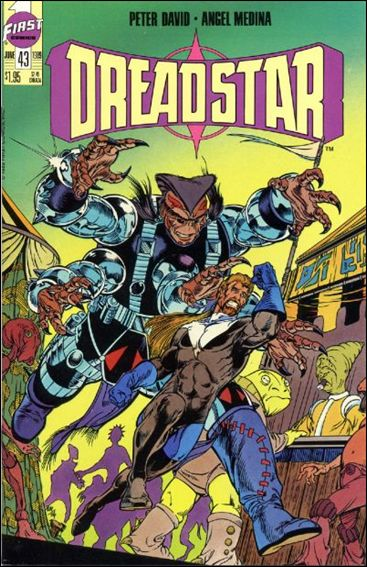 Dreadstar (1982) 43-A by Epic