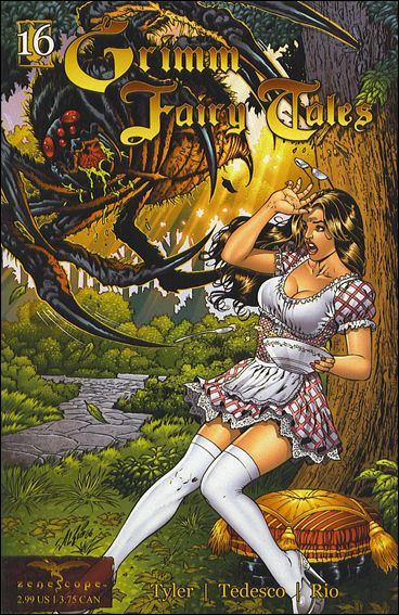 Grimm Fairy Tales (2005) 16-A by Zenescope Entertainment