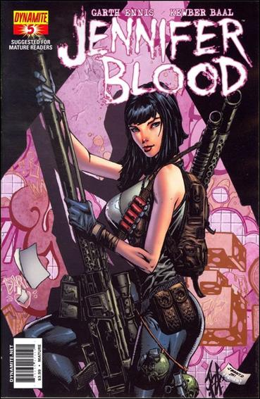 Jennifer Blood 5-D by Dynamite Entertainment