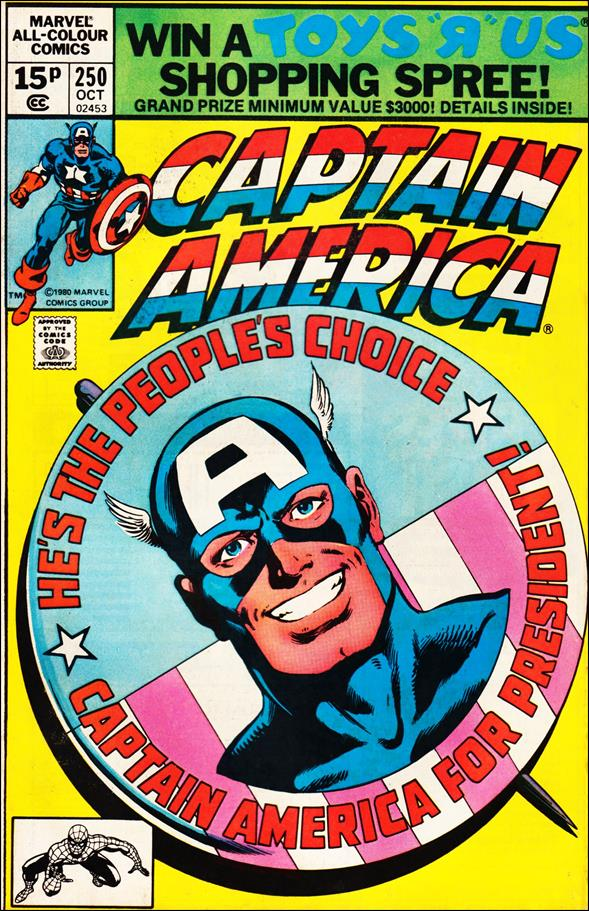 Captain America (1968) 250-B by Marvel