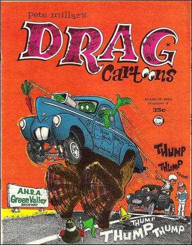 Drag Cartoons (1963) 3-A by Millar