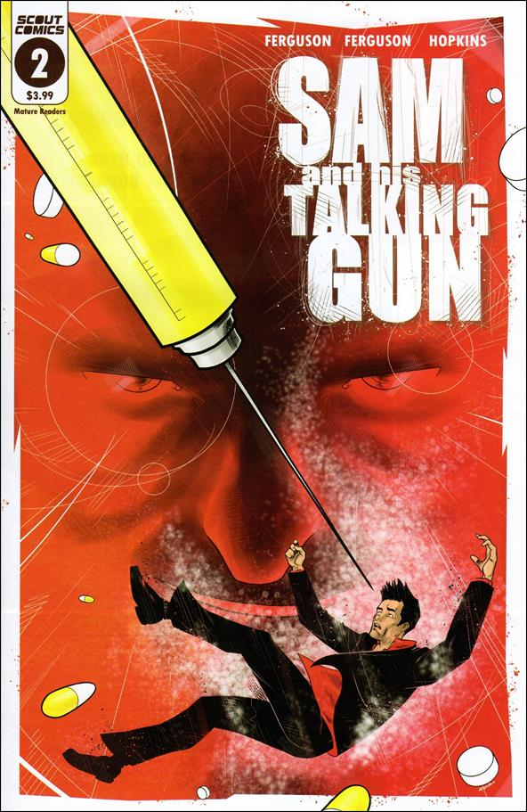 Sam and His Talking Gun 2-A by Scout Comics
