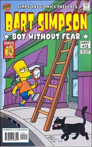 Simpsons Comics Presents Bart Simpson 13-A by Bongo