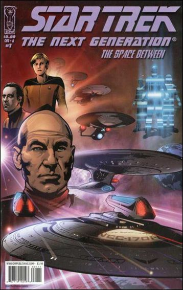 Star Trek: The Next Generation: The Space Between 1-A by IDW