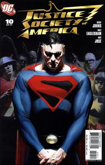 Justice Society of America (2007) 10-A by DC