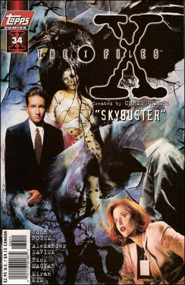 X-Files (1995) 34-A by Topps