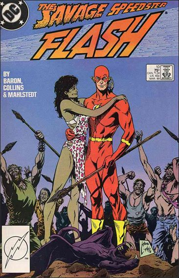 Flash (1987) 10-A by DC