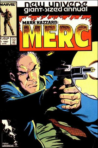 Mark Hazzard: Merc Annual 1-A by Marvel