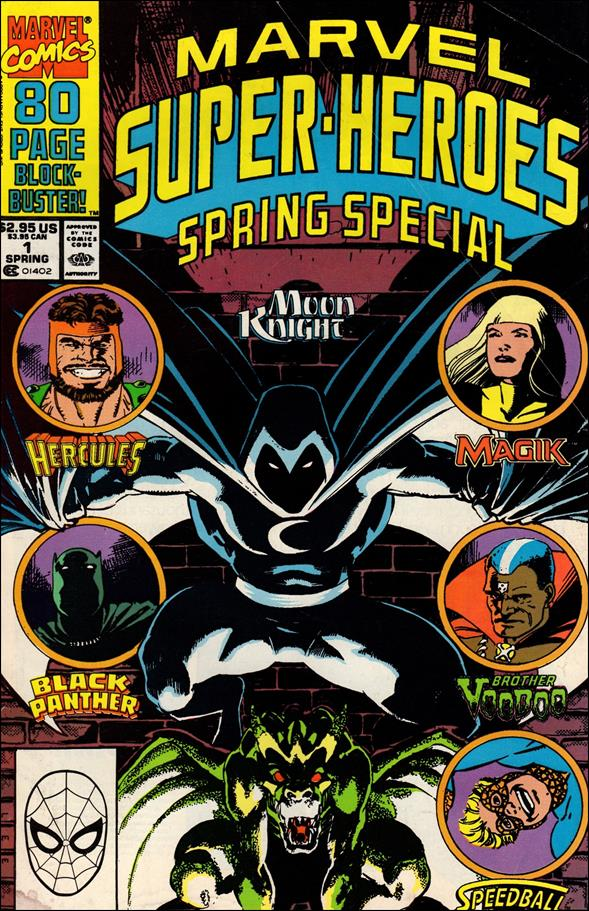Marvel Super-Heroes (1990) 1-A by Marvel
