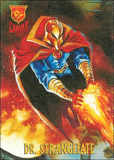 Amalgam Comics (Secret Crisis of the Infinity Hour Canvas Cards Subset) 1-A by Fleer/SkyBox