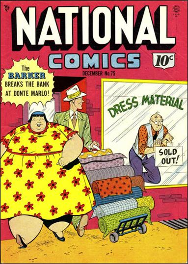 National Comics (1940) 75-A by Quality