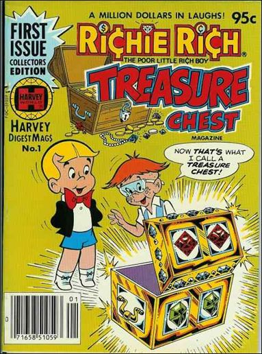 Richie Rich Treasure Chest Digest 1-A by Harvey