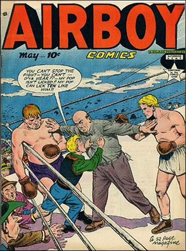 Airboy Comics (1949) 4-A by Hillman