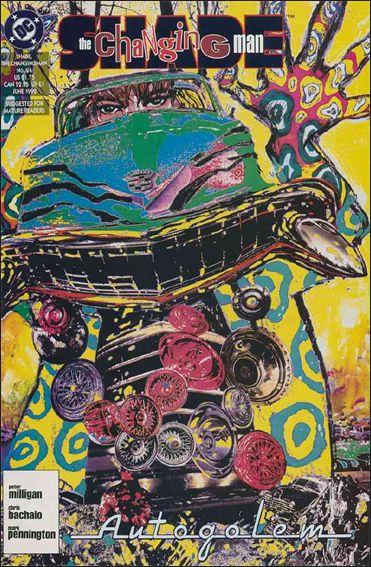 Shade, the Changing Man (1990) 24-A by Vertigo