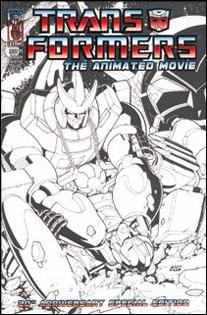 Transformers: The Animated Movie 4-B by IDW