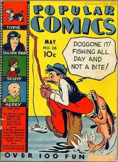 Popular Comics 28-A by Dell