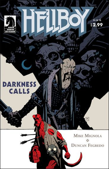 Hellboy: Darkness Calls 4-A by Dark Horse
