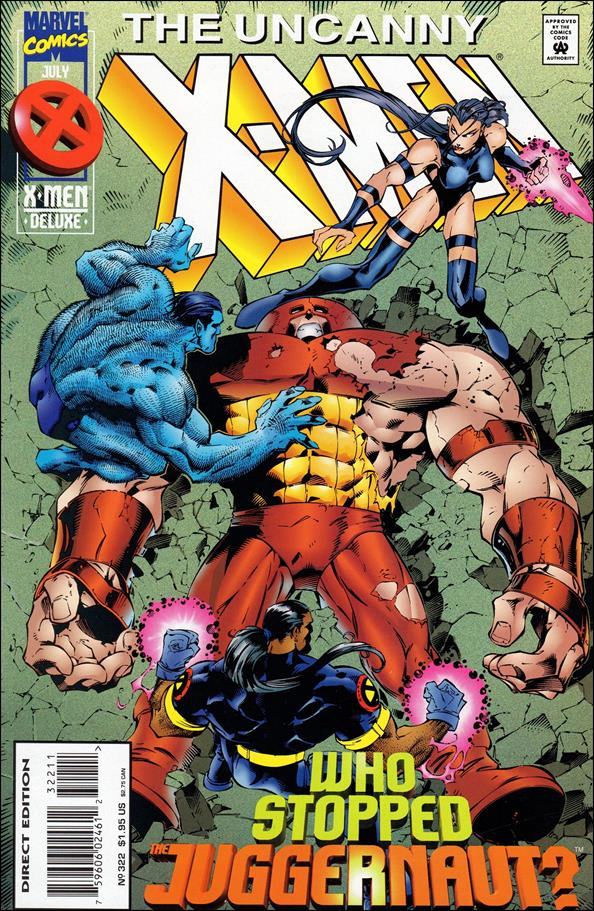 Uncanny X-Men (1981) 322-A by Marvel