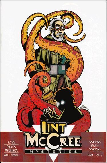 Lint McCree Mysteries: Shadows Within Shadows 1-A by AKF Comics