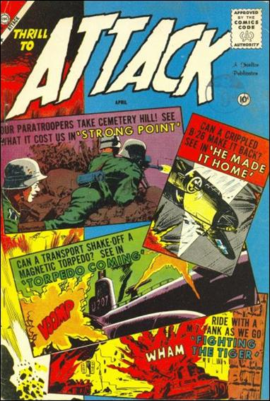 Attack (1958) 57-A by Charlton