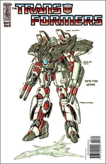 Transformers (2009) 3-C by IDW