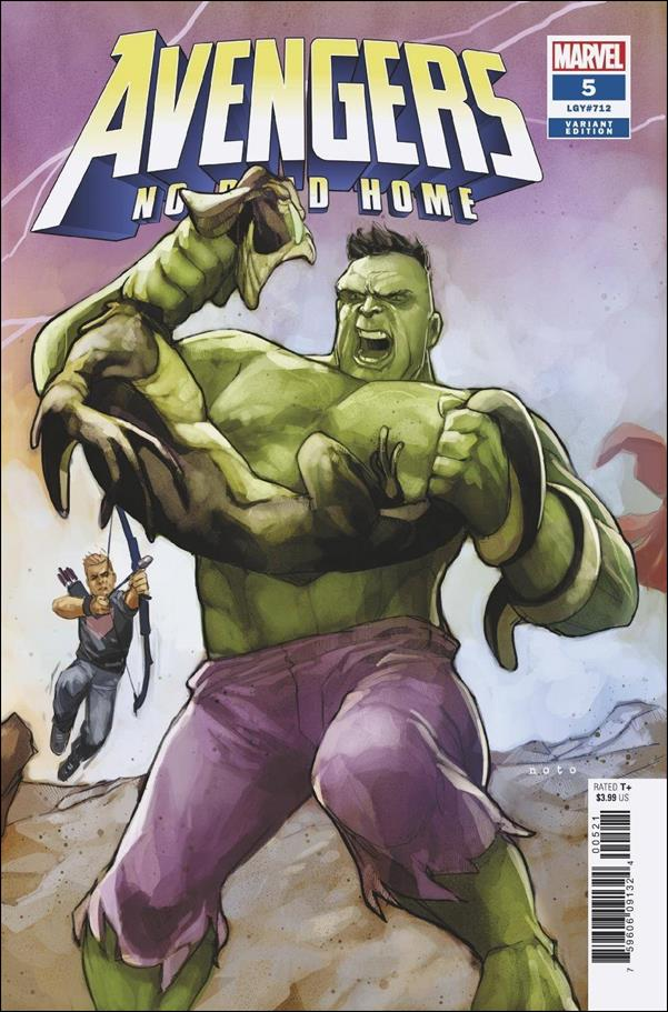 Avengers: No Road Home 5-B by Marvel